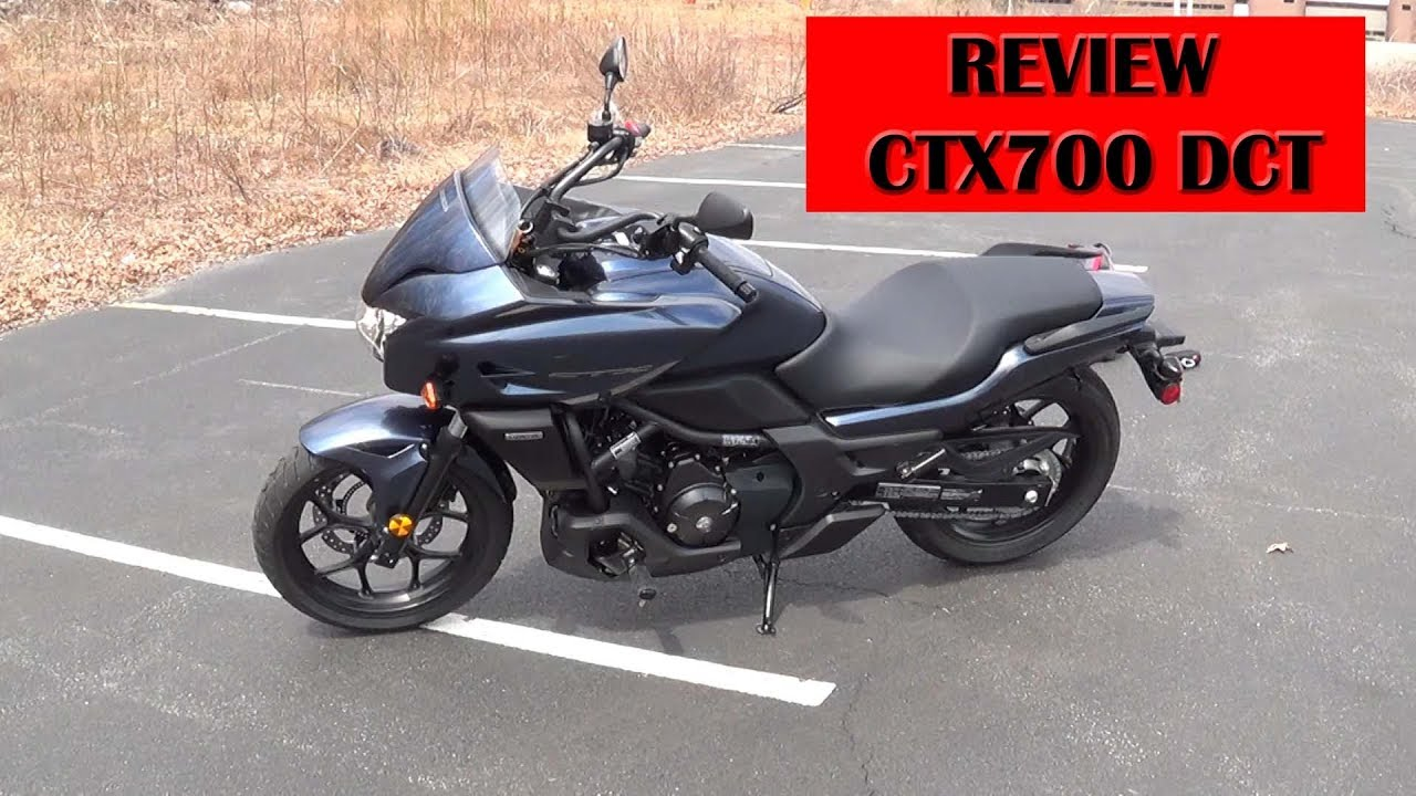 Honda CTX700 DCT review and testdrive for dummies - YouTube