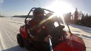Polaris RZR 170 Drifting fun !