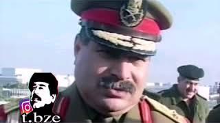 تركيب مقاطع.. صدام حسين/ مع شيلات