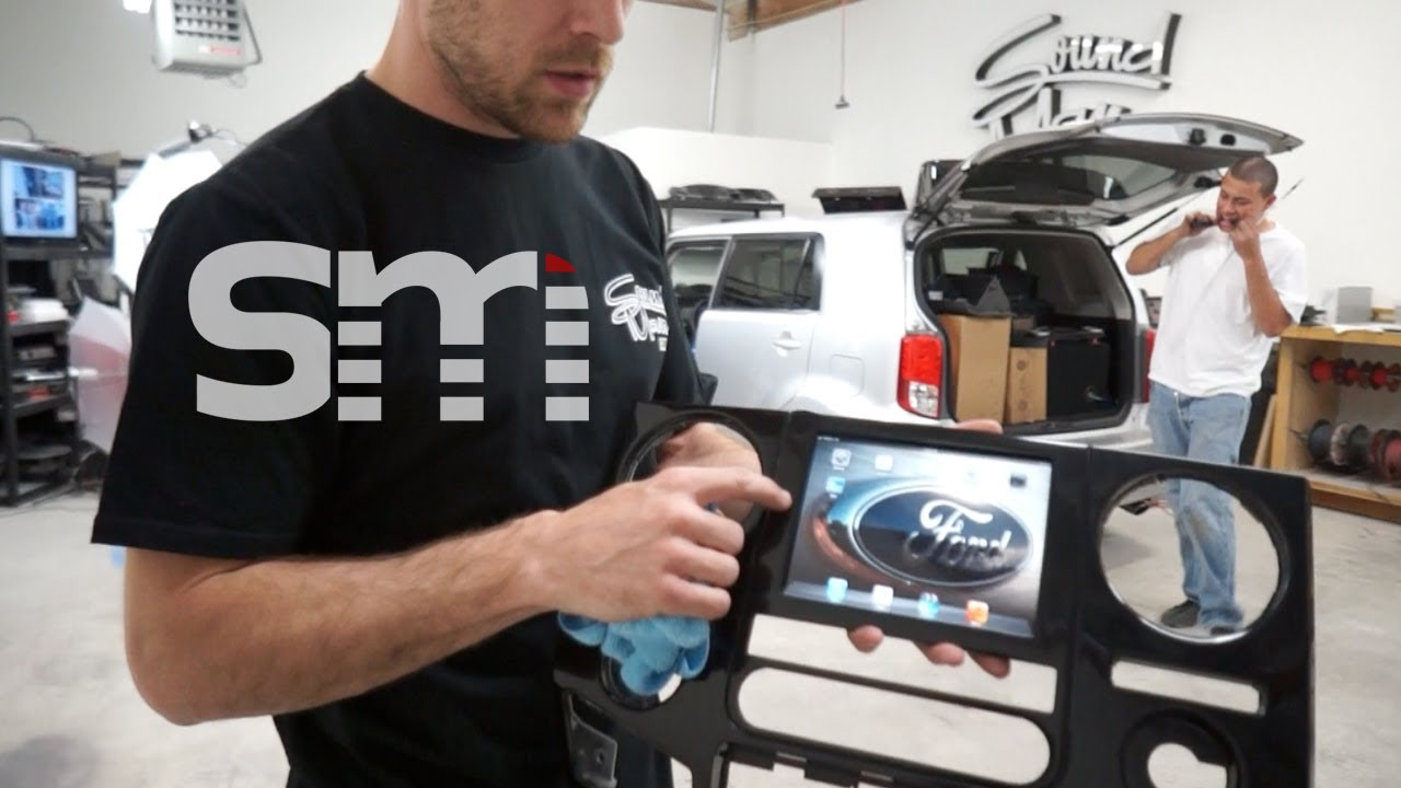 iPad mini install Ford F250 - F Series Super Duty - Perma ...