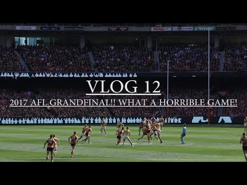 2017 AFL GRANDFINAL!! WHAT A HORRIBLE GAME!