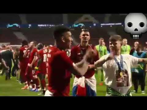 Tarian Firmino Setelah Membawa Liverpool Juara Ucl 2019 Youtube