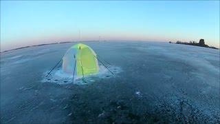 ФИНСКИЙ залив .ЗИМНЯЯ НОЧНАЯ рыбалка у форта ''ПАВЛА I''