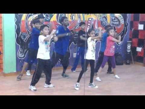 Char baj gaye lekin party abhi baki hai Dance Step | Conquest Dance Centre | Kids Classes |