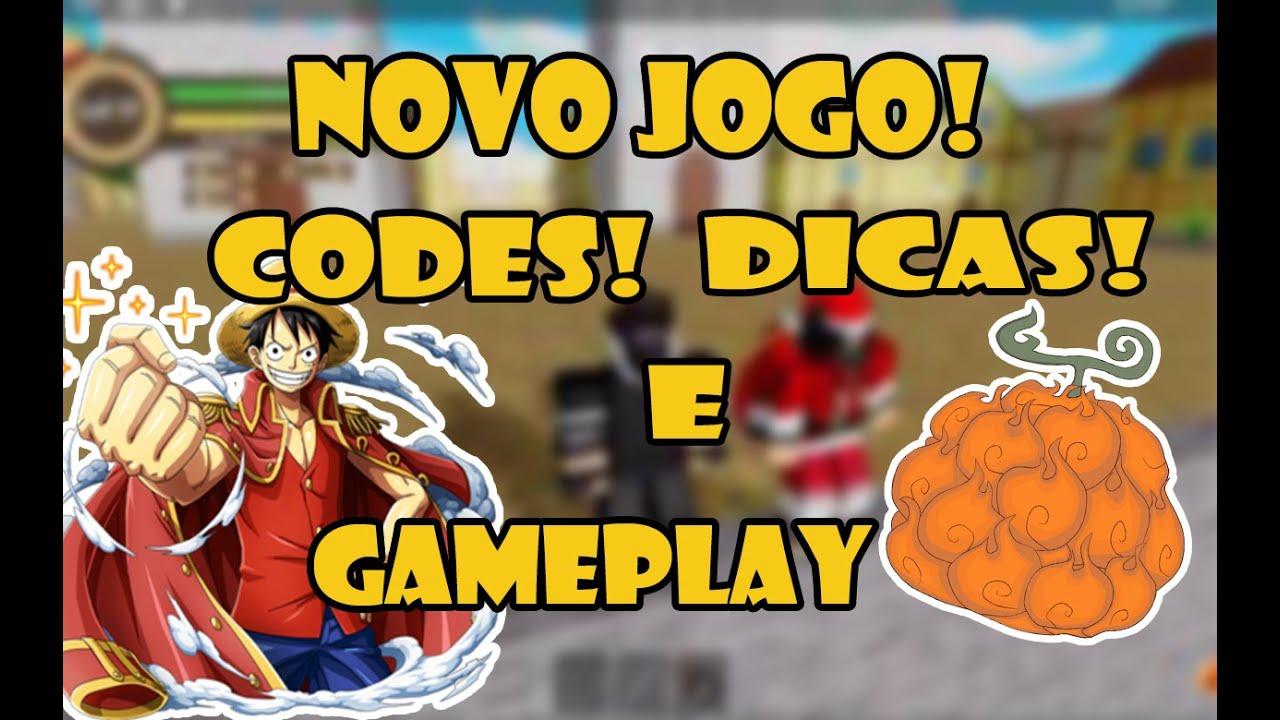 DICAS, 3 CODES E REVIEW DO JOGO! - (☠️ King Piece ...