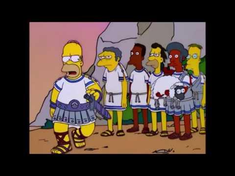 La Odisea de Homero Parte 12 Los Simpson