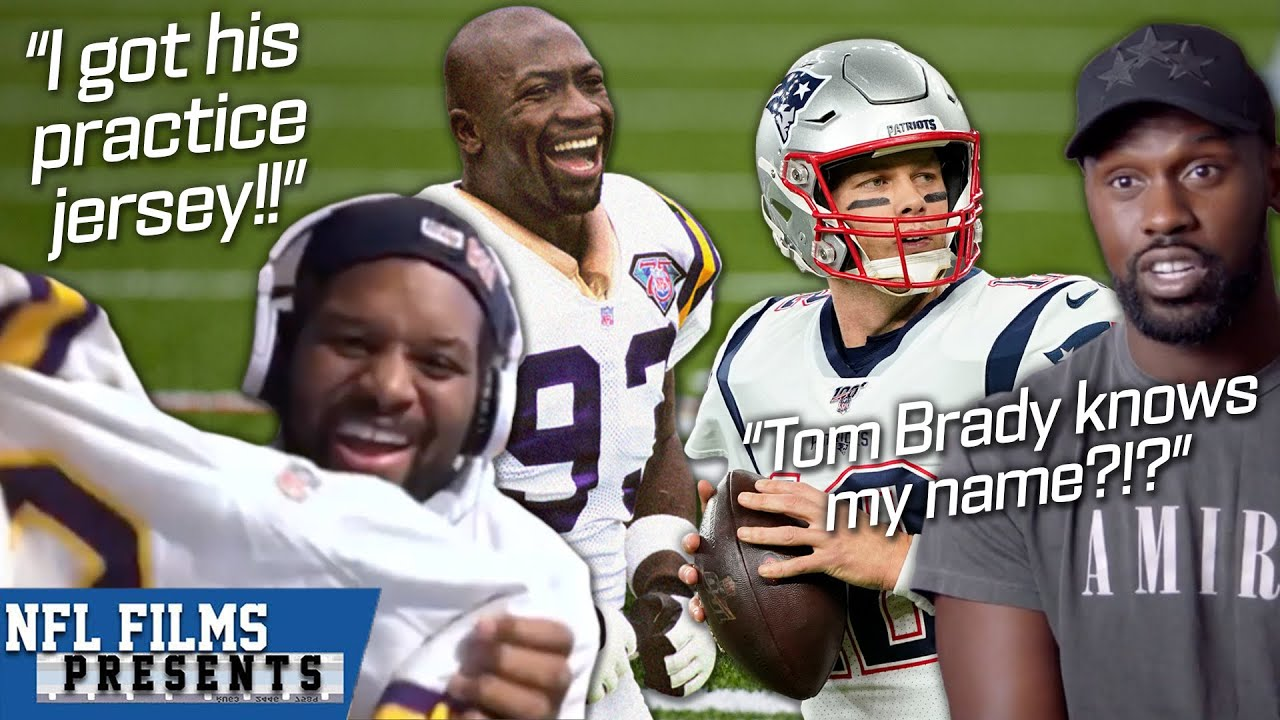 When Players Meet Their NFL Idols on the Field   NFL Films Presents