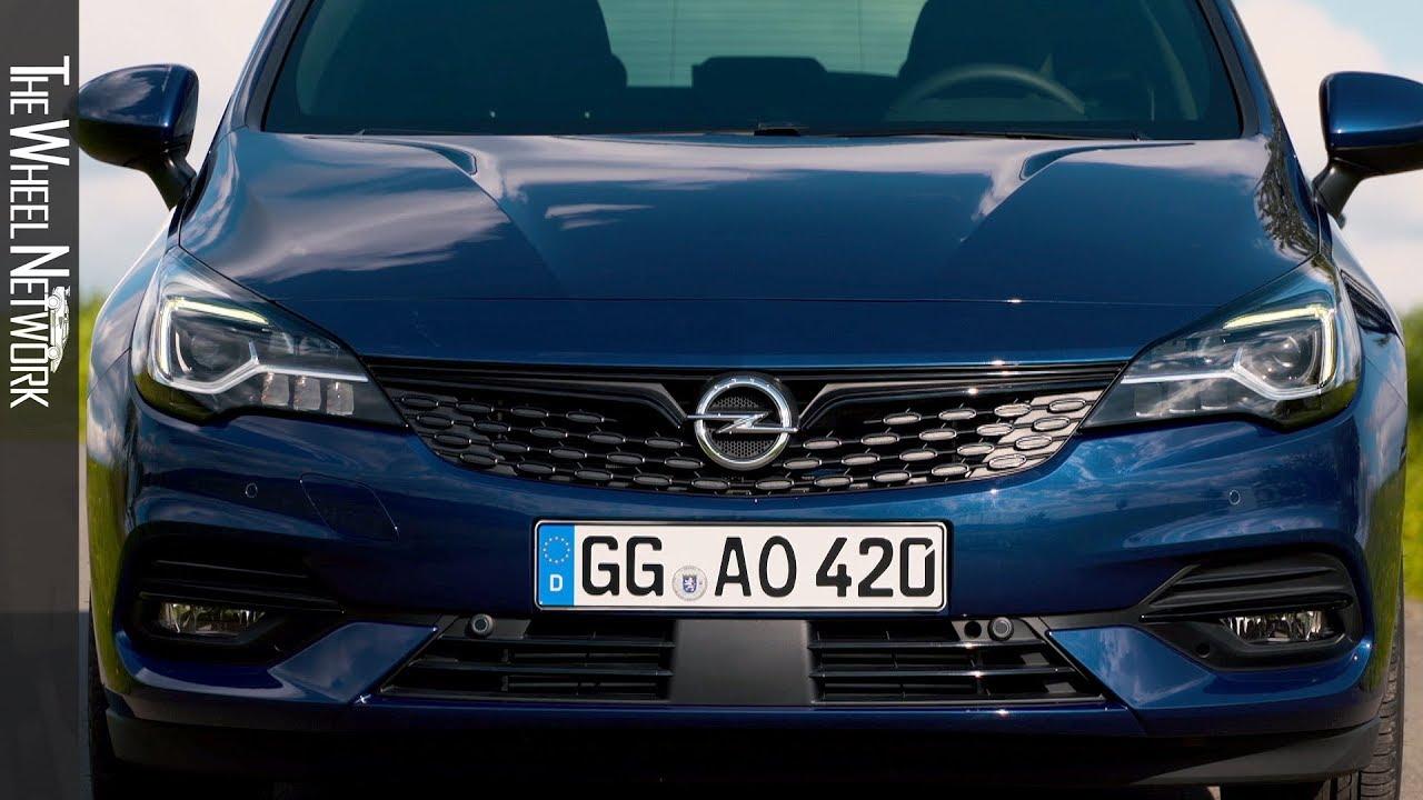 2020 Opel Astra Sports Tourer Driving Exterior