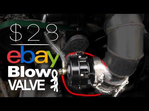$28 eBay BOV on 500hp turbo engine
