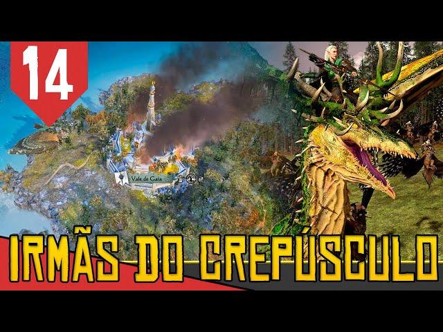 SUPREMACIA DO PAU - Total War Warhammer 2 Irmãs do Crepúsculo #14 [Gameplay PT-BR]