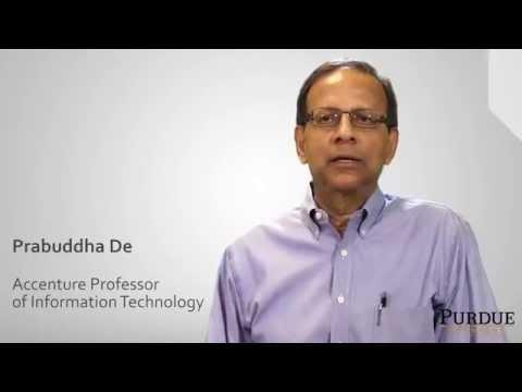 Online retail technologies: Professor Prabuddha De and Professor Mohammad Rahman