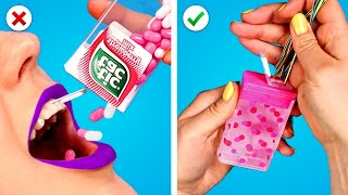 10 Awesome DIY School Hack Ideas! Supplies, Cheat Sheets, and More