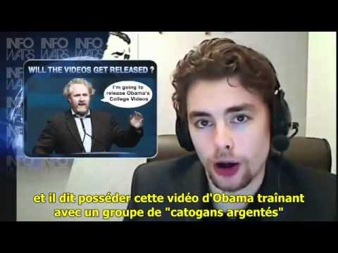 La Mort du Blogger Breitbart - 1 Mars 2012 - Alex Jones - VOSTFR