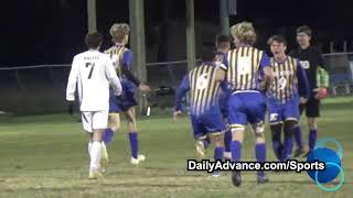 The Daily Advance | 2019 High School Boys' Soccer | Woods Charter at John A. Holmes