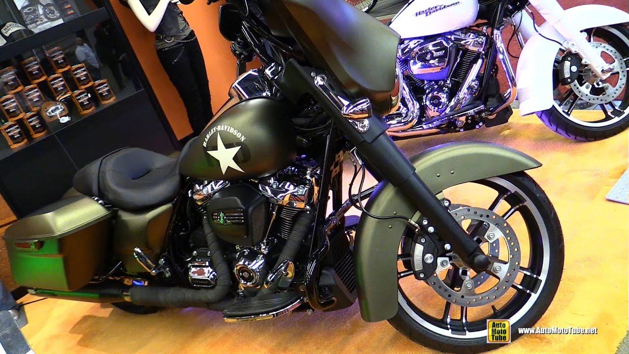 Harley Davidson Army: 2017 Harley Davidson Street Glide Special Army Custom Bike