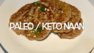 Paleo / Keto / LCHF Naan | Paleo diet recipes in tamil