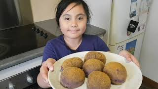 Ube Cheese Pandesal (how to make) dairy farmers vlog #daughter vlog take over