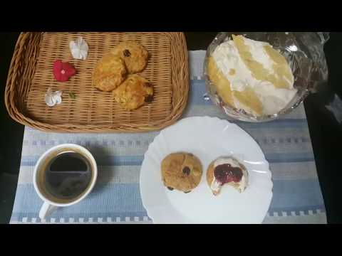 Clotted cream-How to make clotted cream- very simple & easy recipe    قمیر / قیماق