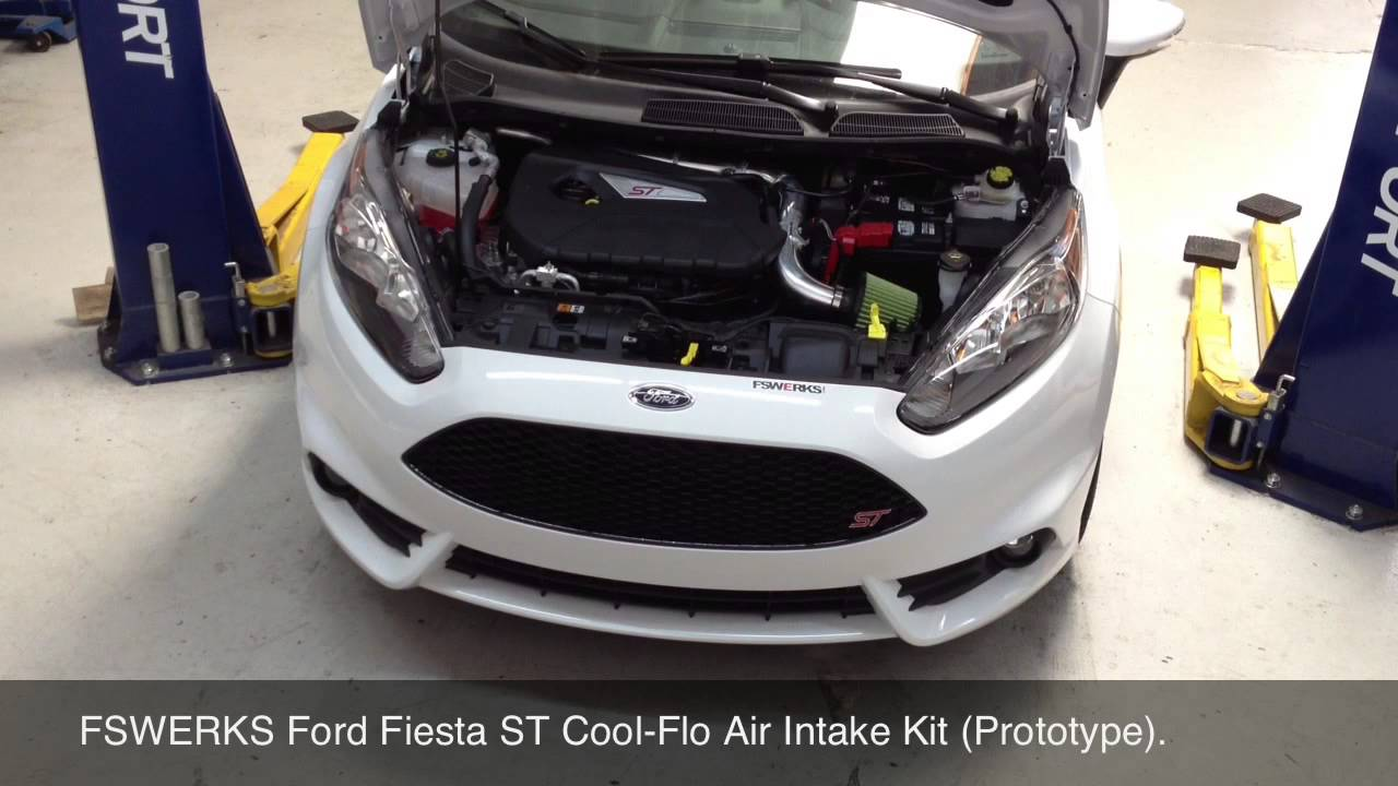 Fswerks Ford Fiesta St Cool Flo Air Intake Kit Prototype