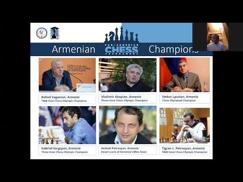 The Closing Ceremony Fo The Pan-Armenian Chess Tournament 2020