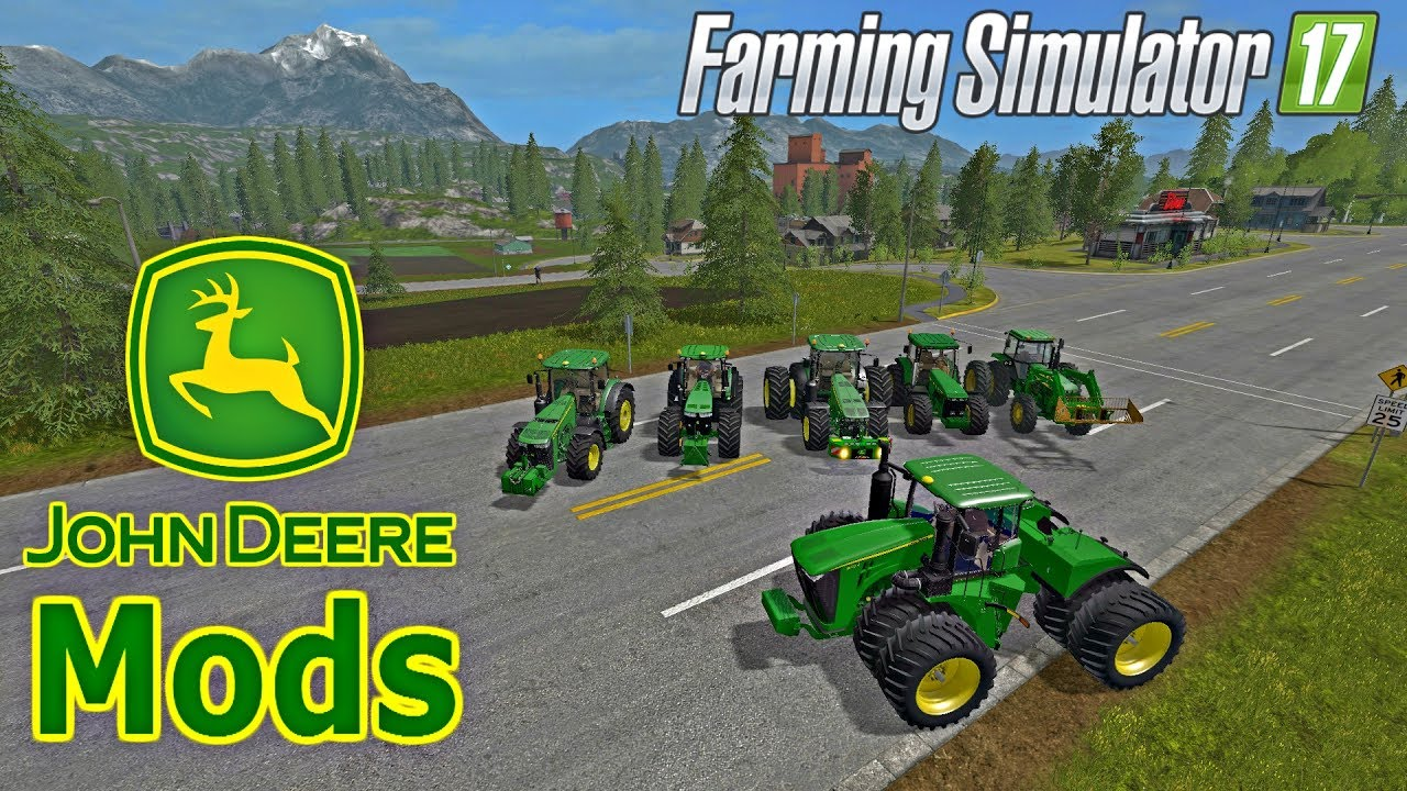 Farming Simulator 2017 Mods JOHN DEERE MODS - YouTube