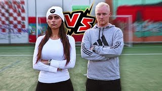 FORFEIT FOOTBALL CHALLENGE VS MIA KHALIFA