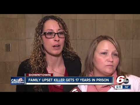 Family of murdered mother irate at plea deal, 17 year prison sentence for killer