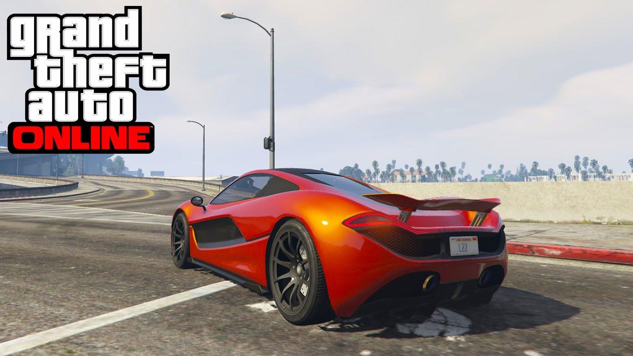 GTA Online   Pimpar $2,200,000 Progen T20 (McLaren P1)   YouTube