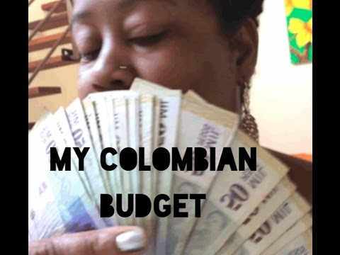 My Colombian Budget: How Much I Make & Living Expenses