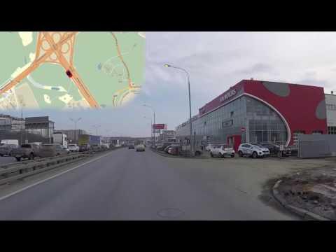 СЦ 44 км МКАД Москва Маршрут#2