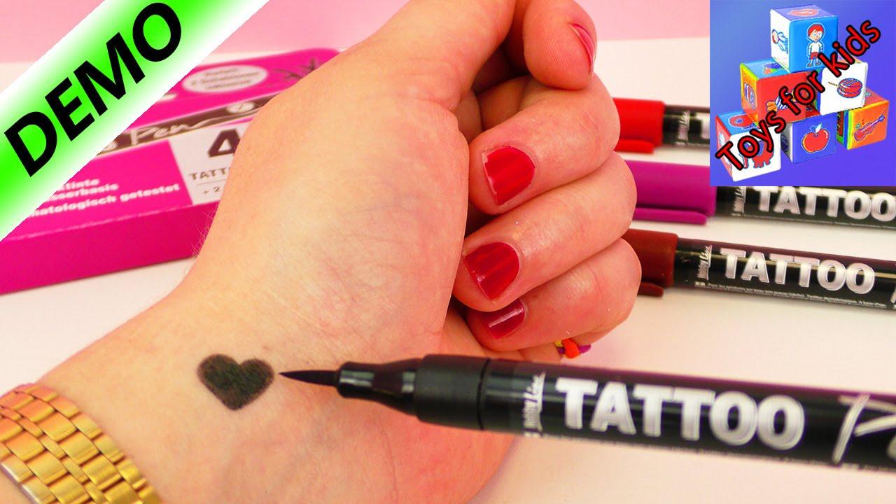 Henna Tattoo Pen: Testing Four Tattoo Pens