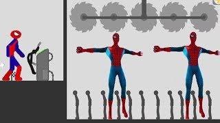 stickman backflip killer 3   killer mode all levels spiderman android gameplay fhd part 2