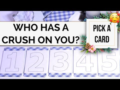 PICK A CARD // Do You Have A Secret Admirer? Who? Love Tarot Reading!
