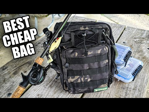Best Cheap Tackle Bag On Amazon? | $30 Tackle Bag Review
