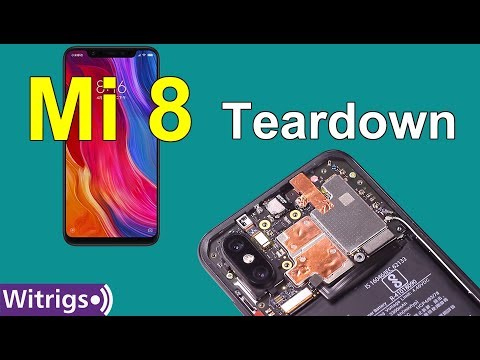 Xiaomi Mi 8 Teardown - Repair Guide