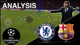 Conte's Genius Plan To Block Barca | Chelsea-Barcelona Tactical Analysis