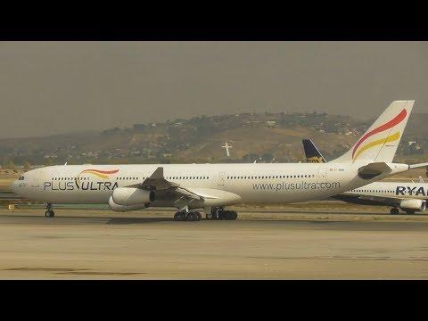 Planes at Madrid Barajas Airport, MAD   01-11-17 (Terminal Spotting)