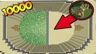 10000 КРИПЕРОВ ПРОТИВ 1 ОЦЕЛОТА   МАЙНКРАФТ ПРОТИВОСТОЯНИЕ    10000 CREEPERS VS 1 OCELOT