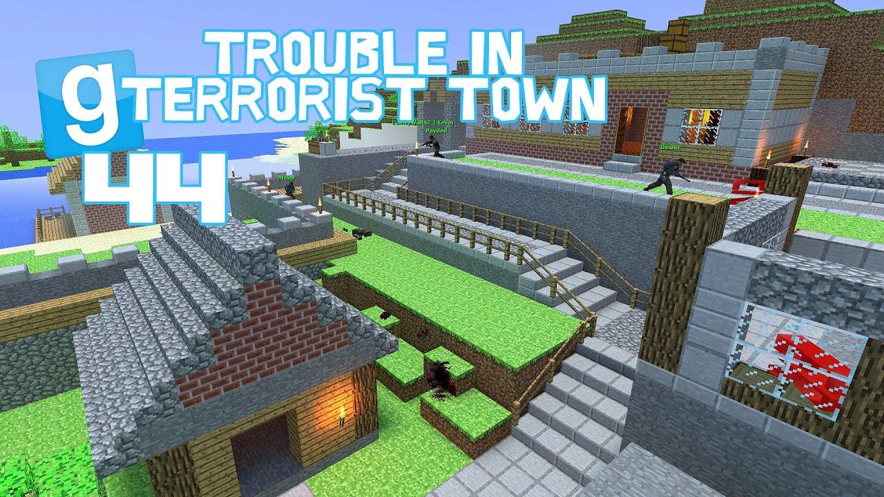 TROUBLE IN TERRORIST TOWN - Eine neue Minecraft Map! [HD+] Let's Play Garrys Mod German - YouTube