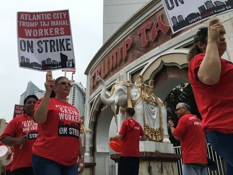 Atlantic City Casino Workers Ok Contract For 3 Casinos