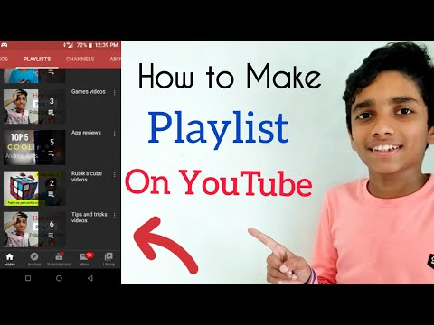 How to make playlist on YouTube | How to create playlist on