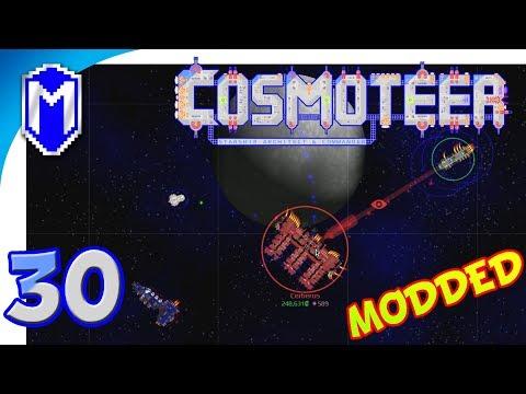 Cosmoteer - Our Fleet Vs Vanguard Ships - Let's Play Cosmoteer Star Wars Gameplay Ep 30