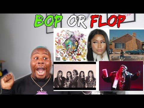 BOP OR FLOP I FUTURE, NICKI MINAJ, LIL WAYNE, KHALID, DUA LIPA, BLACKPINK