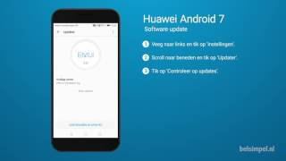Tips & Tricks - Huawei smartphone: Software update (Android 7)