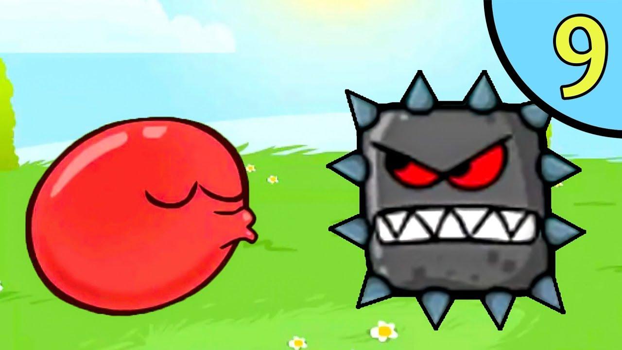 Прыгающий красный шарик 5