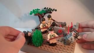 Лего самоделка #9 на тему Вторая мировая (победа)