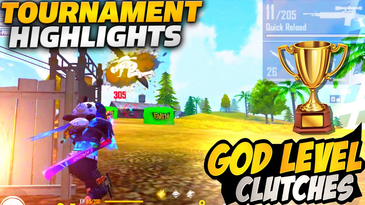 GOD LEVEL CLUTCHES IN TOURNAMENT    TOURNAMENT HIGHLIGHTS BY KILLER FF