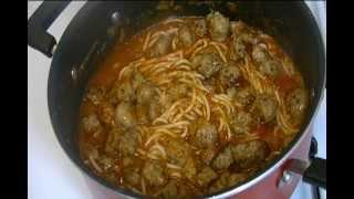 Spahetti With Italian Sausage