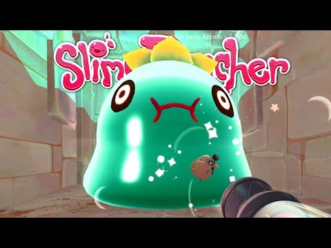 Amazing Tangle Slime Gordo and Ancient Fountain! - Let's Play Slime Rancher Gameplay