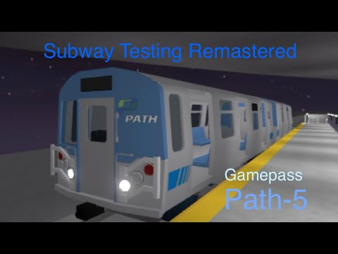 Roblox Subway Testing Remastered